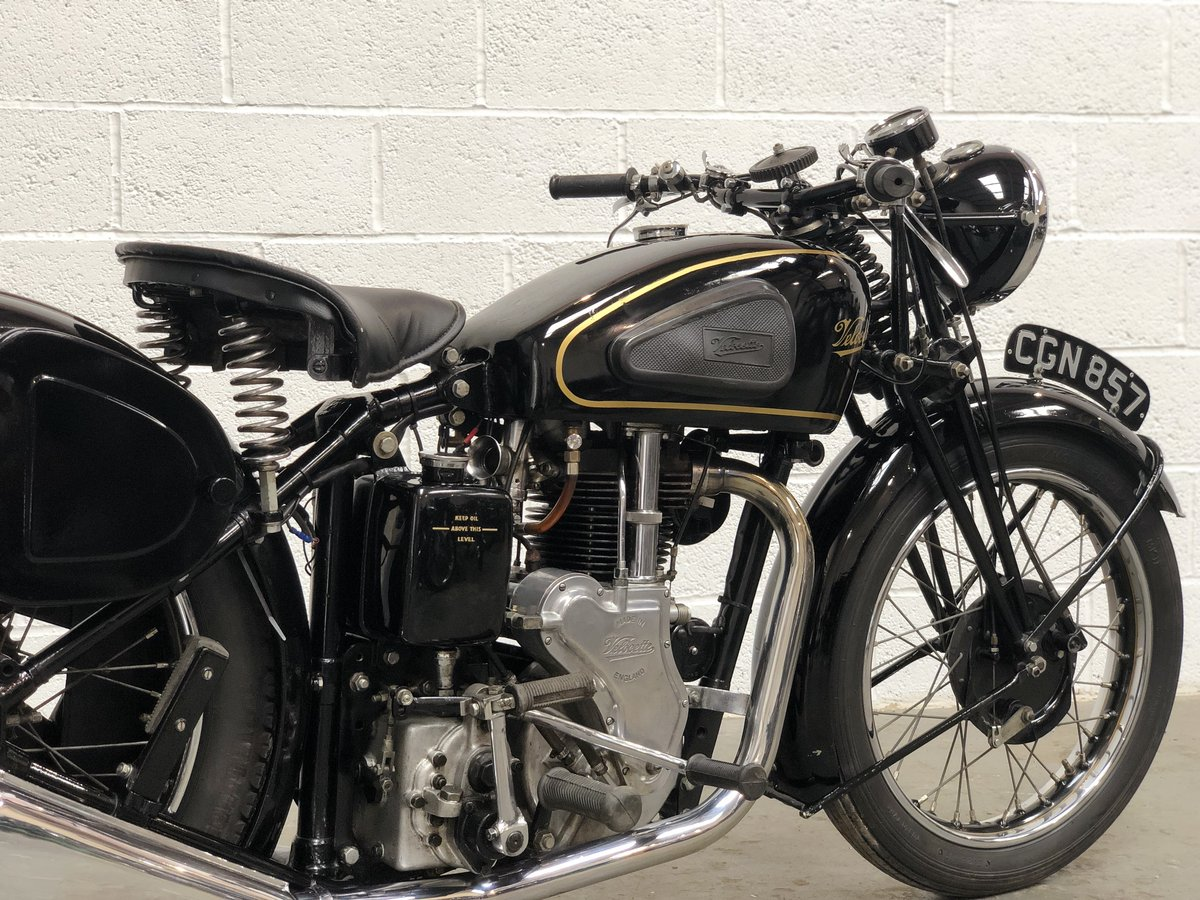 Velocette MSS 1935 500cc OHV Vintage Pre-WAR Motorcycle SOLD (picture 6 of 6)