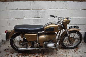 1961 Velocette Valiant, low mileage 05/10/2019 SOLD by Auction