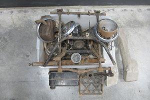 VELOCETTE LE PARTS BIKE: Assortment of miscellaneous parts For Sale by Auction