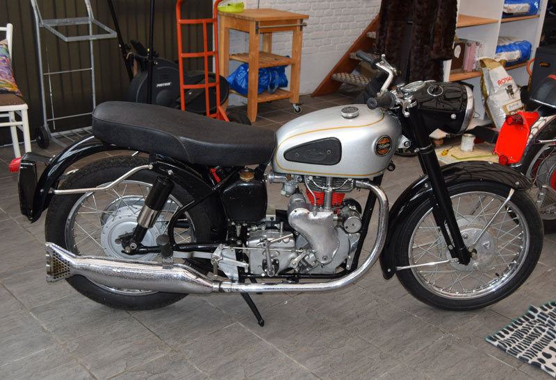 1960 Velocette MAC /w Viper engine (project) For Sale (picture 1 of 2)
