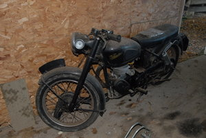 1955 Velocette MSS A project to get a lovely bike back SOLD
