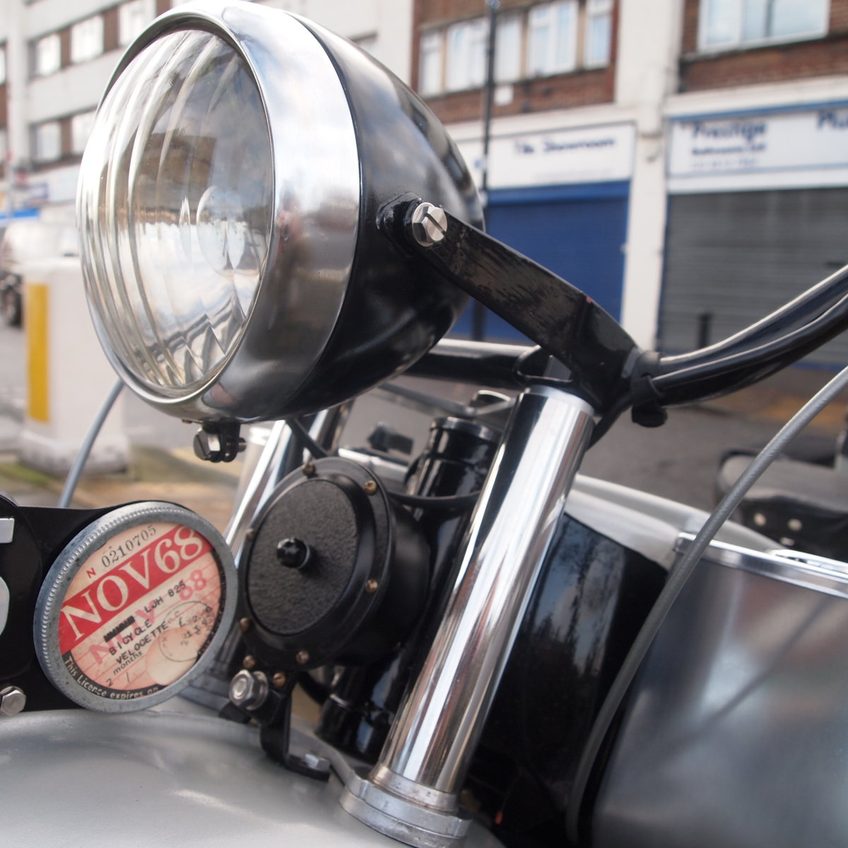 1949 Rare Early Model LE150 Mk1. In Beautiful Condition. For Sale (picture 4 of 6)