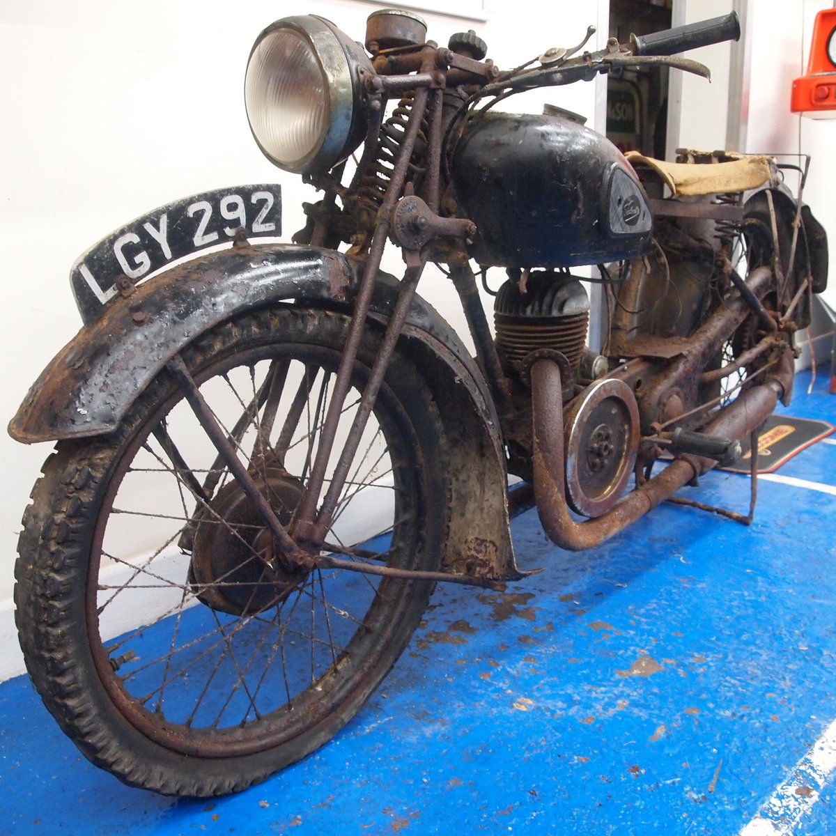1938 Velocette GTP250 Rare Magneto Model, With Buff Logbook. SOLD (picture 1 of 6)