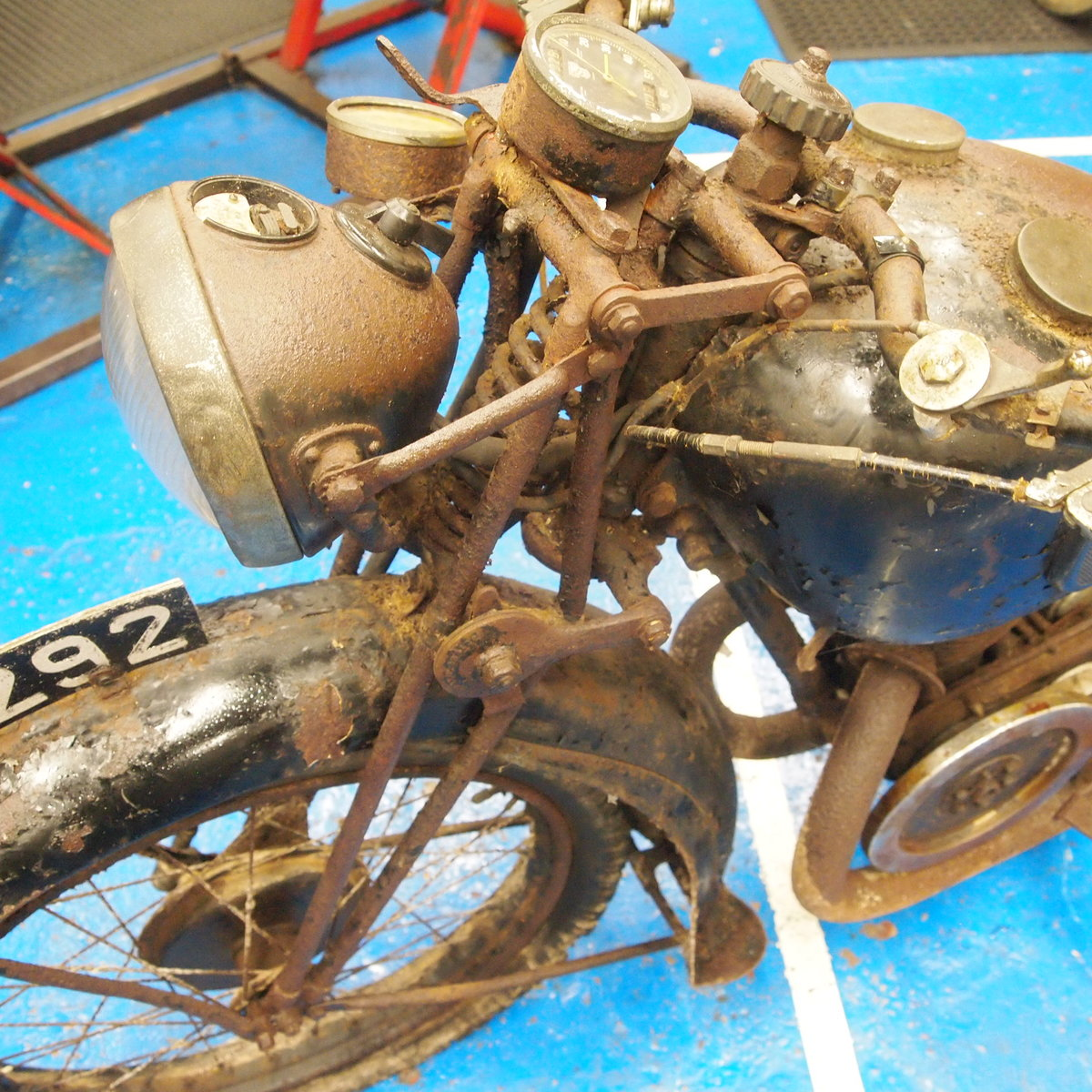 1938 Velocette GTP250 Rare Magneto Model, With Buff Logbook. SOLD (picture 5 of 6)