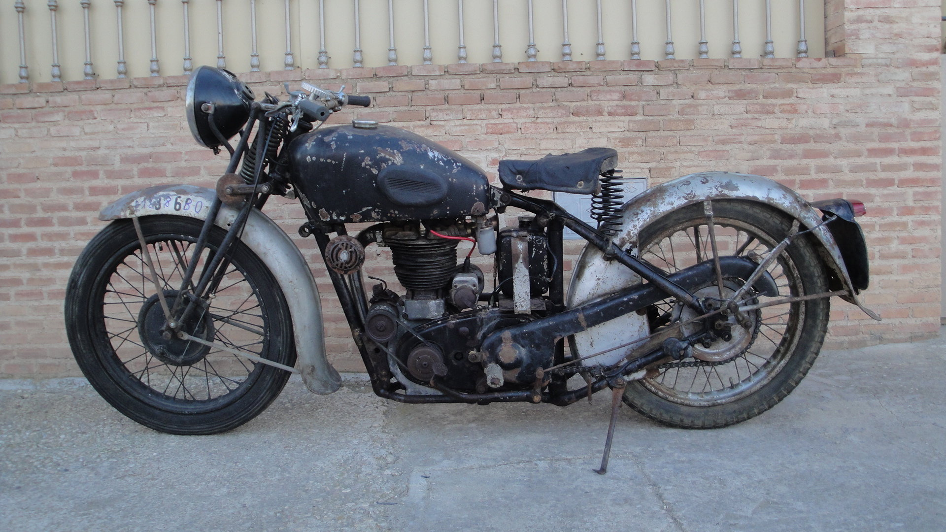 1936 Velocette  mss 500cc ohv años For Sale (picture 2 of 6)