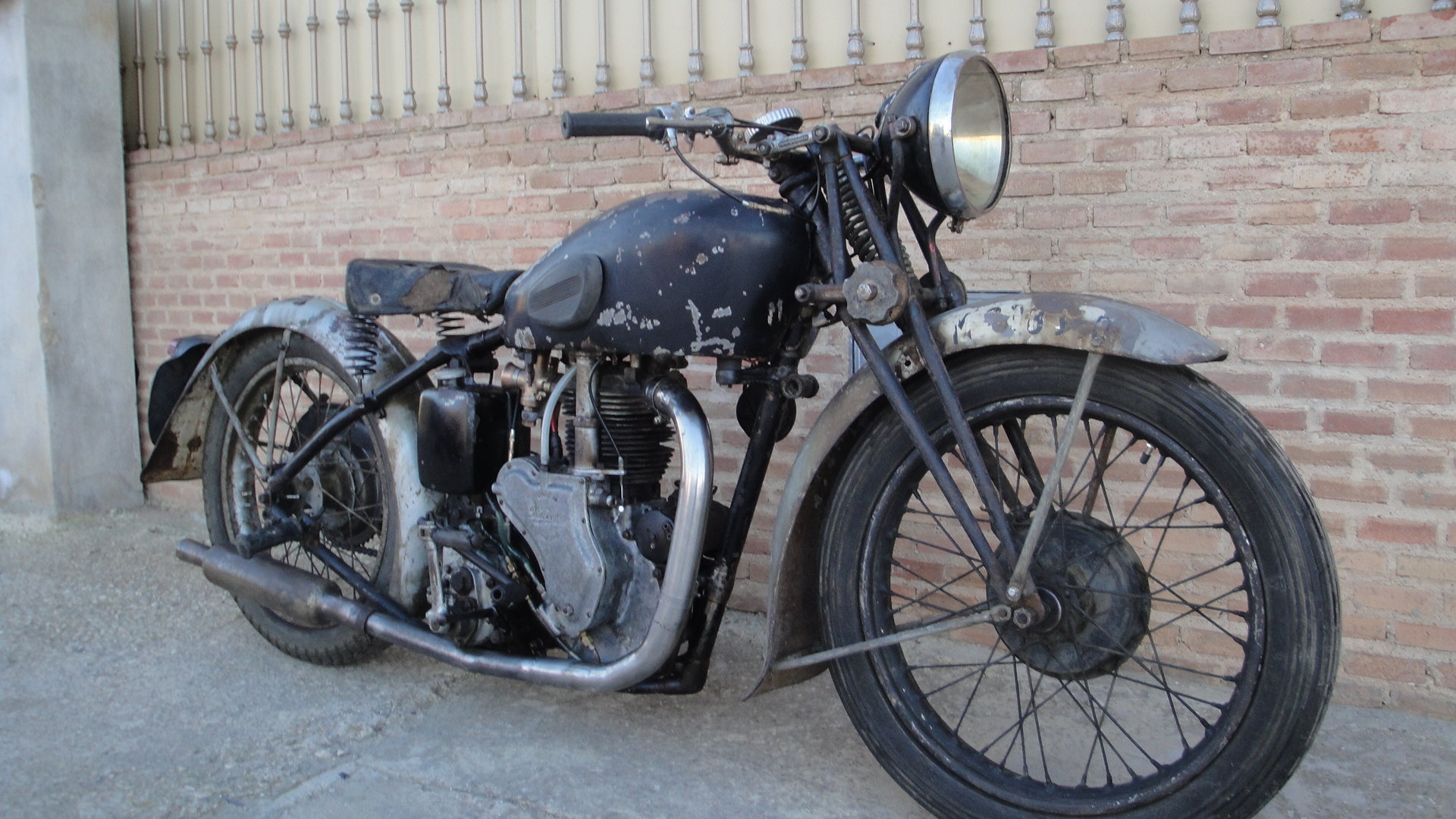 1936 Velocette  mss 500cc ohv años For Sale (picture 3 of 6)