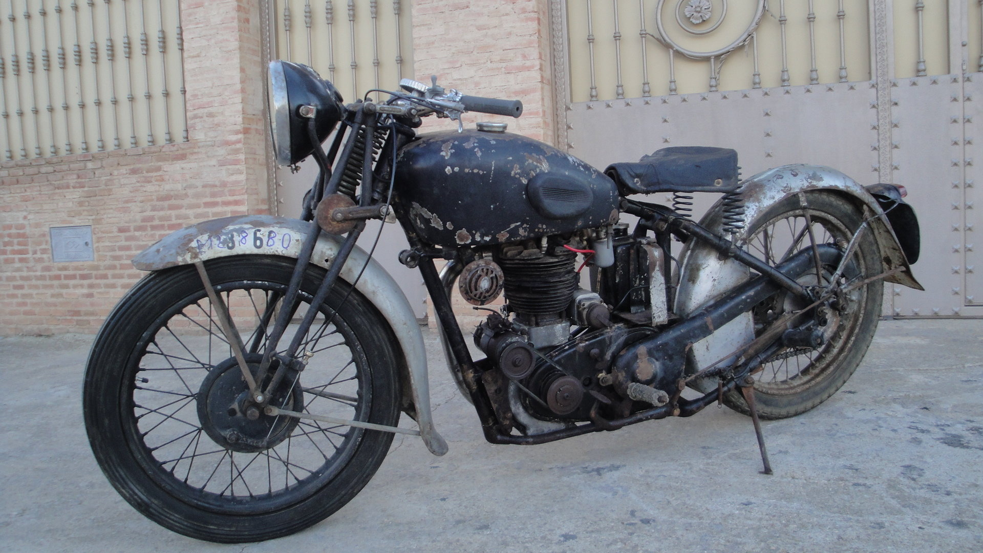 1936 Velocette  mss 500cc ohv años For Sale (picture 4 of 6)