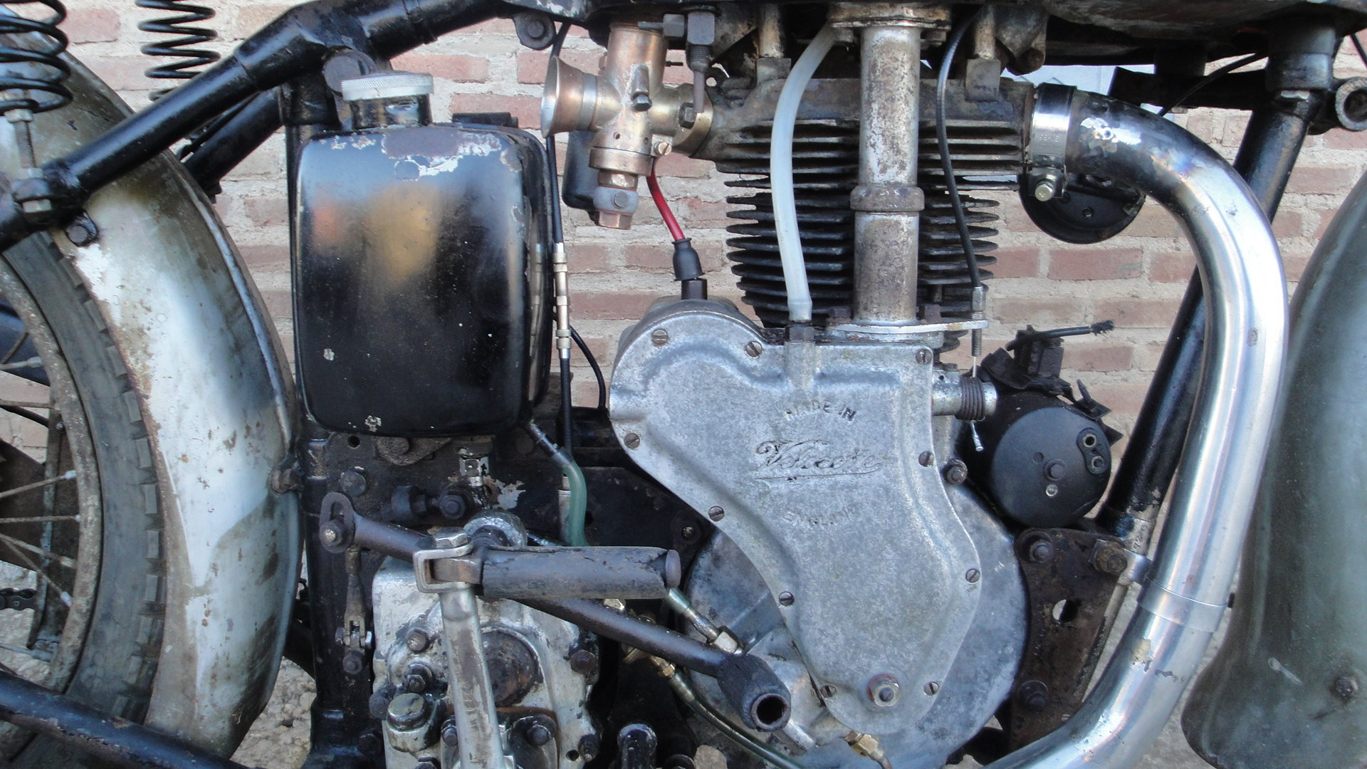1936 Velocette  mss 500cc ohv años For Sale (picture 5 of 6)