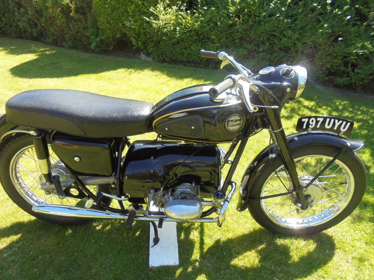 1958 Velocette valiant ex famous i.o.m collection For Sale (picture 1 of 6)