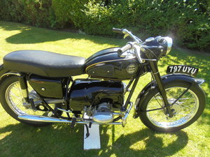 Velocette valiant ex famous i.o.m collection