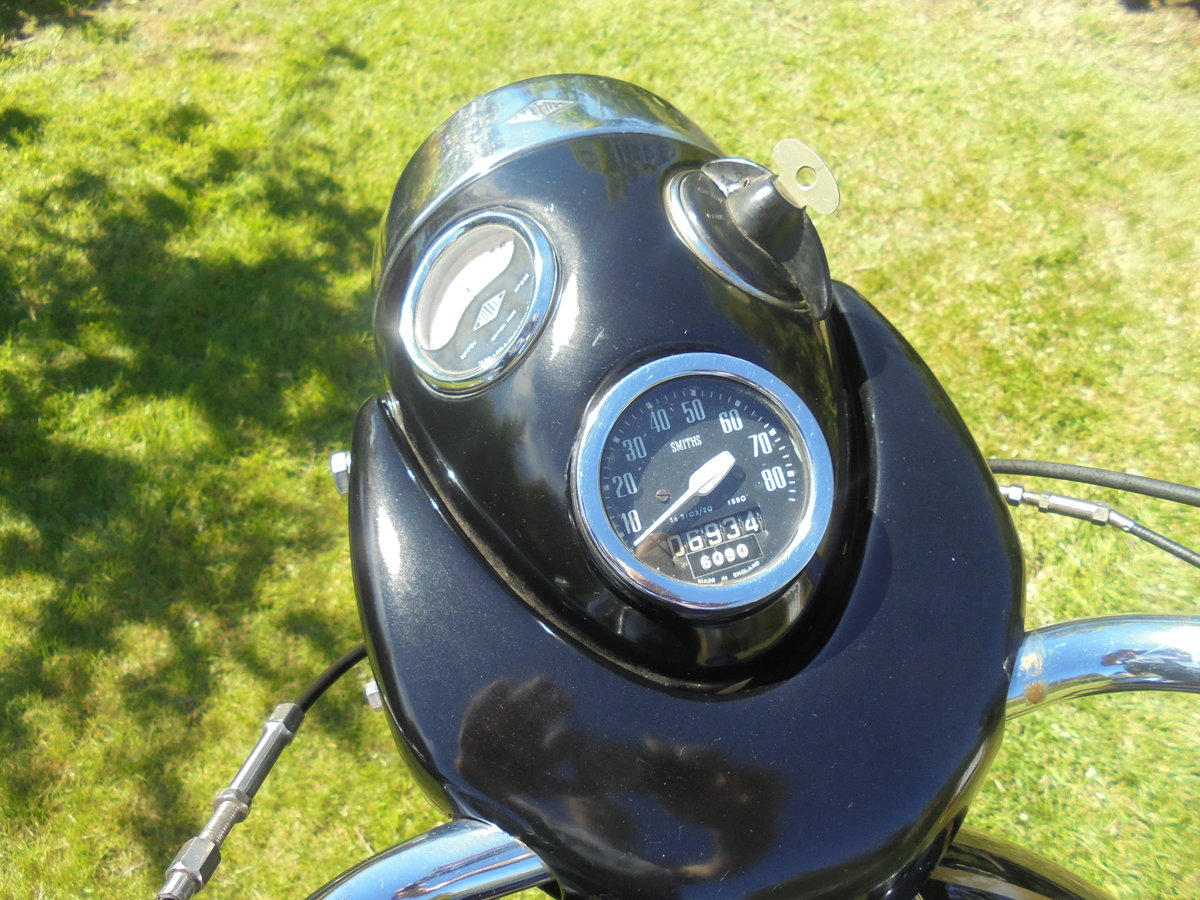 1958 Velocette valiant ex famous i.o.m collection For Sale (picture 5 of 6)