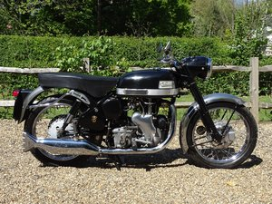 Lovely original Velocette Venom, matching numbers