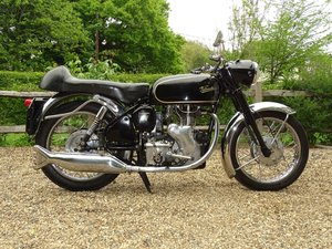 Velocette Viper, really nice matching numbers bike