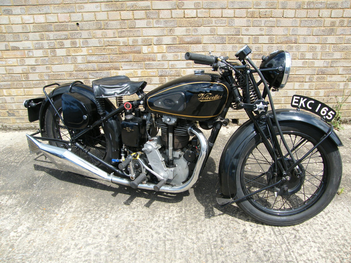 1938 Velocette kts cammy +  spare engine & g box etc SOLD (picture 1 of 6)