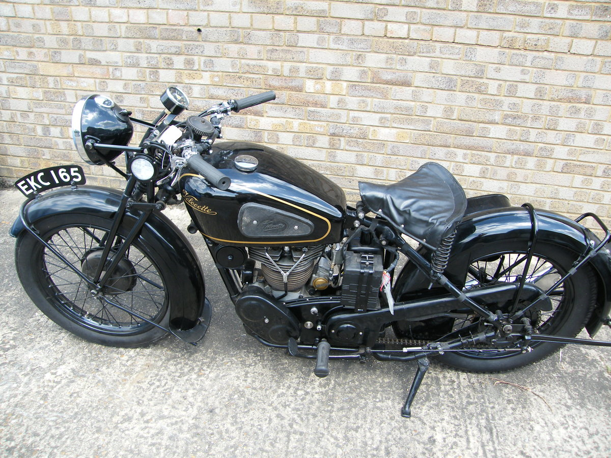 1938 Velocette kts cammy +  spare engine & g box etc SOLD (picture 2 of 6)