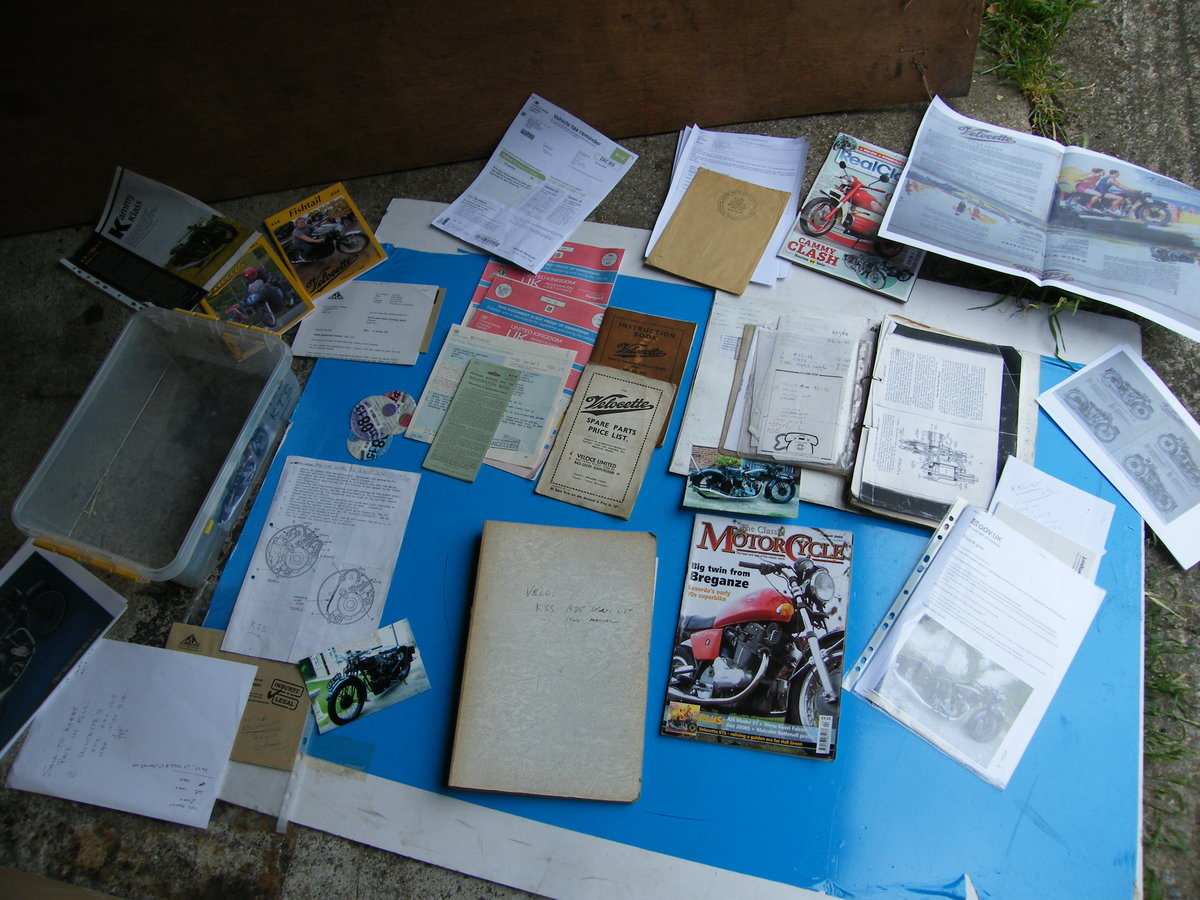 1938 Velocette kts cammy +  spare engine & g box etc SOLD (picture 3 of 6)