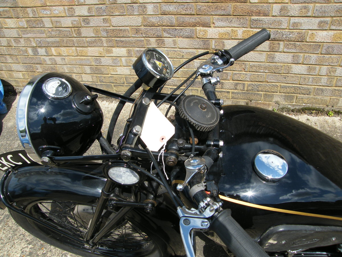 1938 Velocette kts cammy +  spare engine & g box etc SOLD (picture 4 of 6)