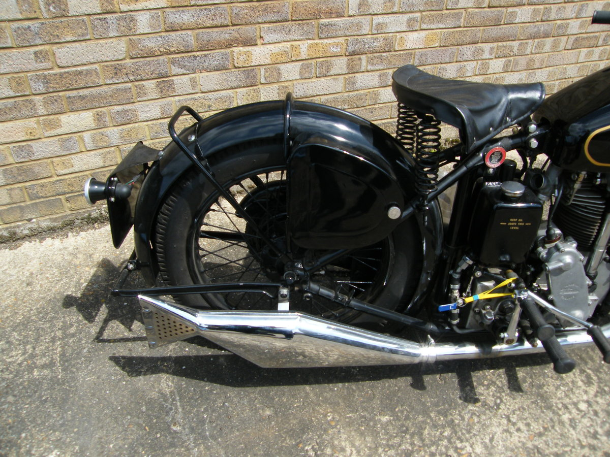 1938 Velocette kts cammy +  spare engine & g box etc SOLD (picture 6 of 6)