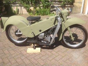 1960 Le  velocette.