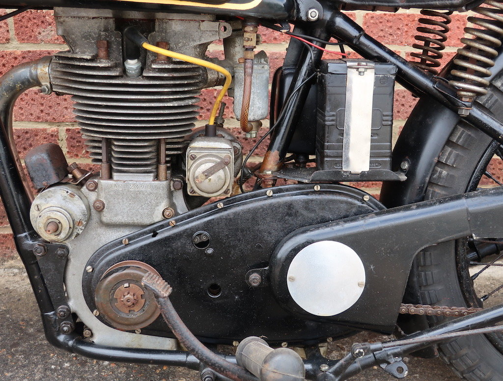 1938 Velocette MAC - Barn find For Sale (picture 5 of 6)
