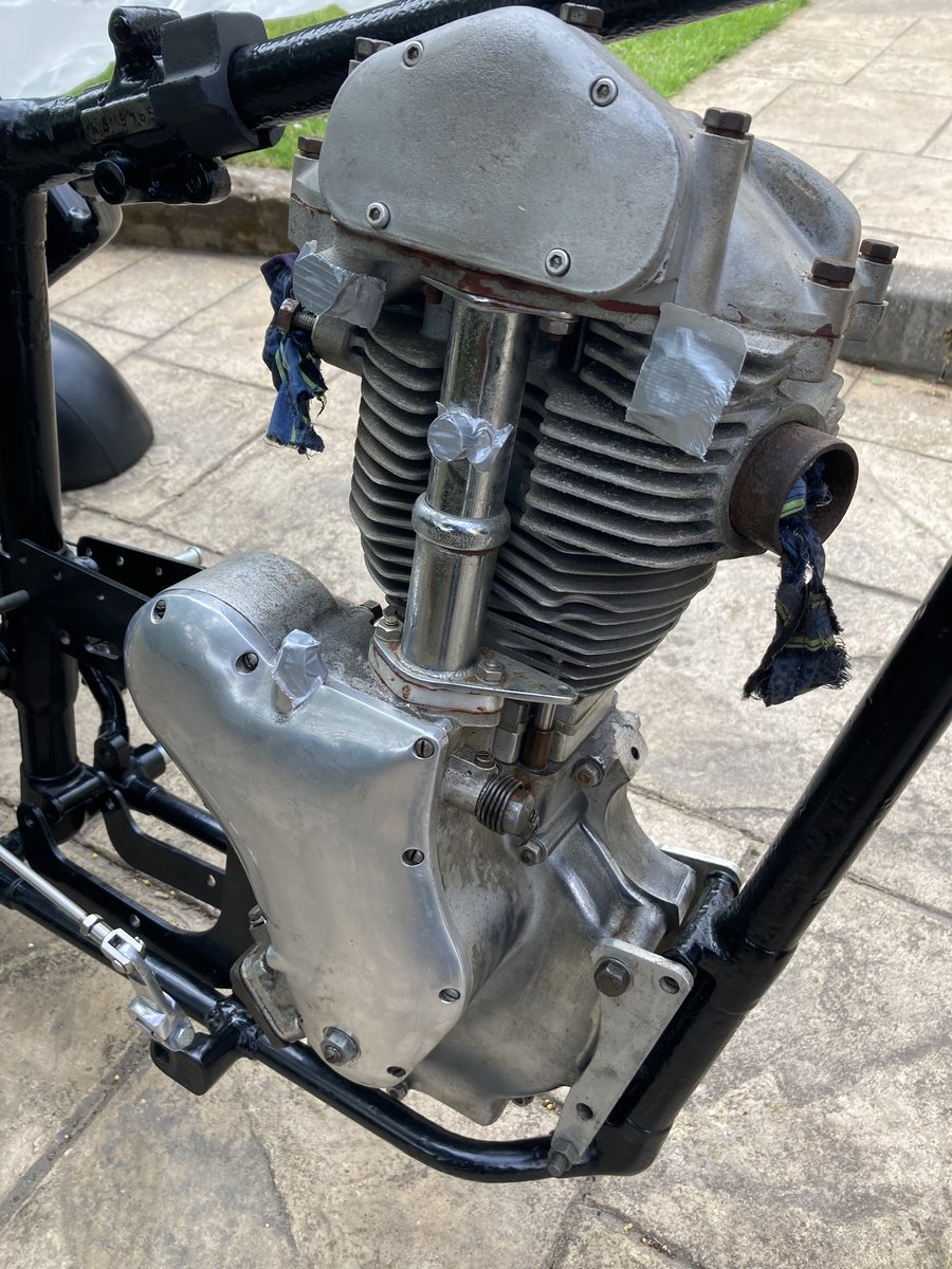 1959 Velocette Venom special cafe racer Thruxton homage For Sale (picture 3 of 6)
