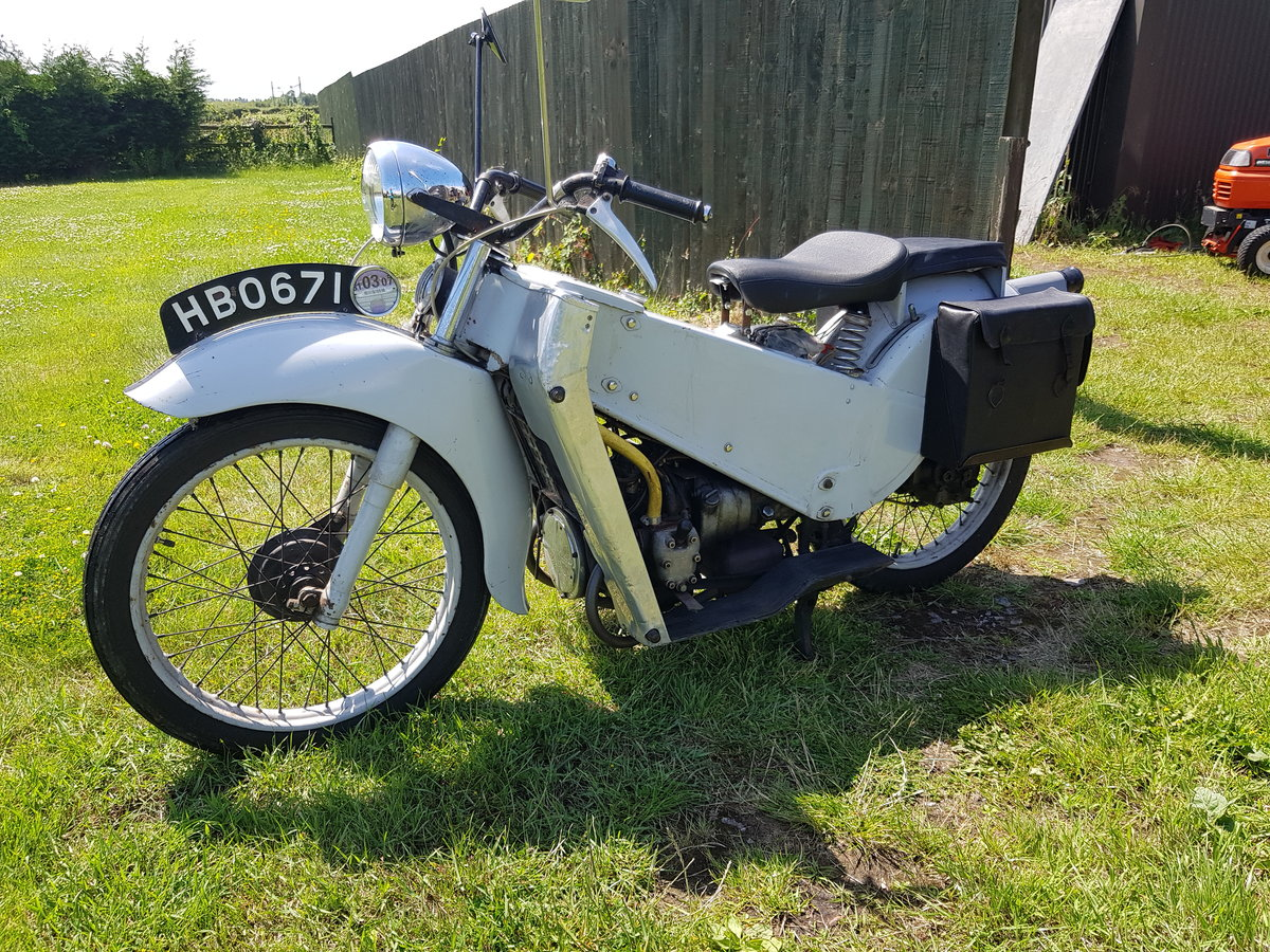 1953 Velocette LE 200  SOLD (picture 2 of 6)