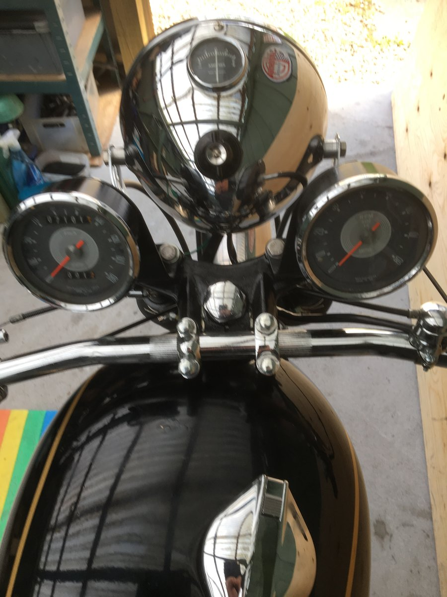 1962 Velocette Venom in Clubman trim  For Sale (picture 5 of 6)