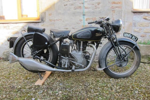 1937 VELOCETTE 499CC MSS (LOT 332) SOLD by Auction (picture 1 of 1)