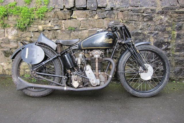 1932 VELOCETTE 348CC KTT (LOT 389) SOLD by Auction (picture 1 of 1)