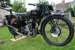 Picture of 1935 Velocette KSS Mark 1