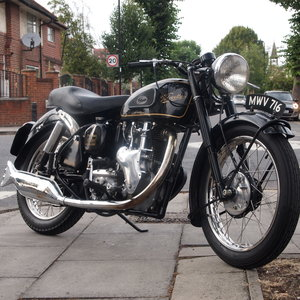 1955 Velocette MSS 500 Classic, Clean & Ready To Ride.