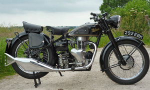 Velocette MAC 350cc beautiful tele-rigid