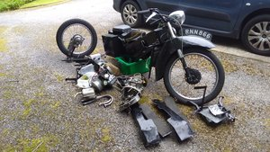 1954 Velocette LE complete, dismantled with spares