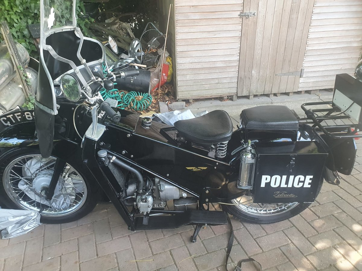 1967 Velocette LE 200 Classic Police Bike For Sale (picture 1 of 6)