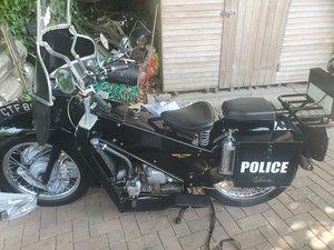 Velocette LE 200 Classic Police Bike
