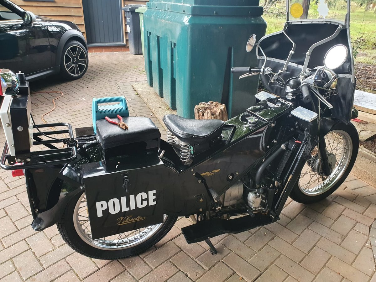 1967 Velocette LE 200 Classic Police Bike For Sale (picture 2 of 6)