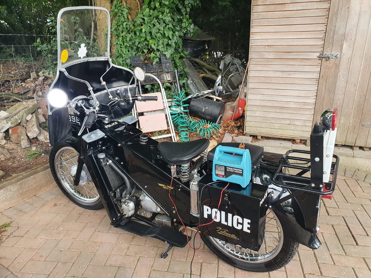1967 Velocette LE 200 Classic Police Bike For Sale (picture 3 of 6)