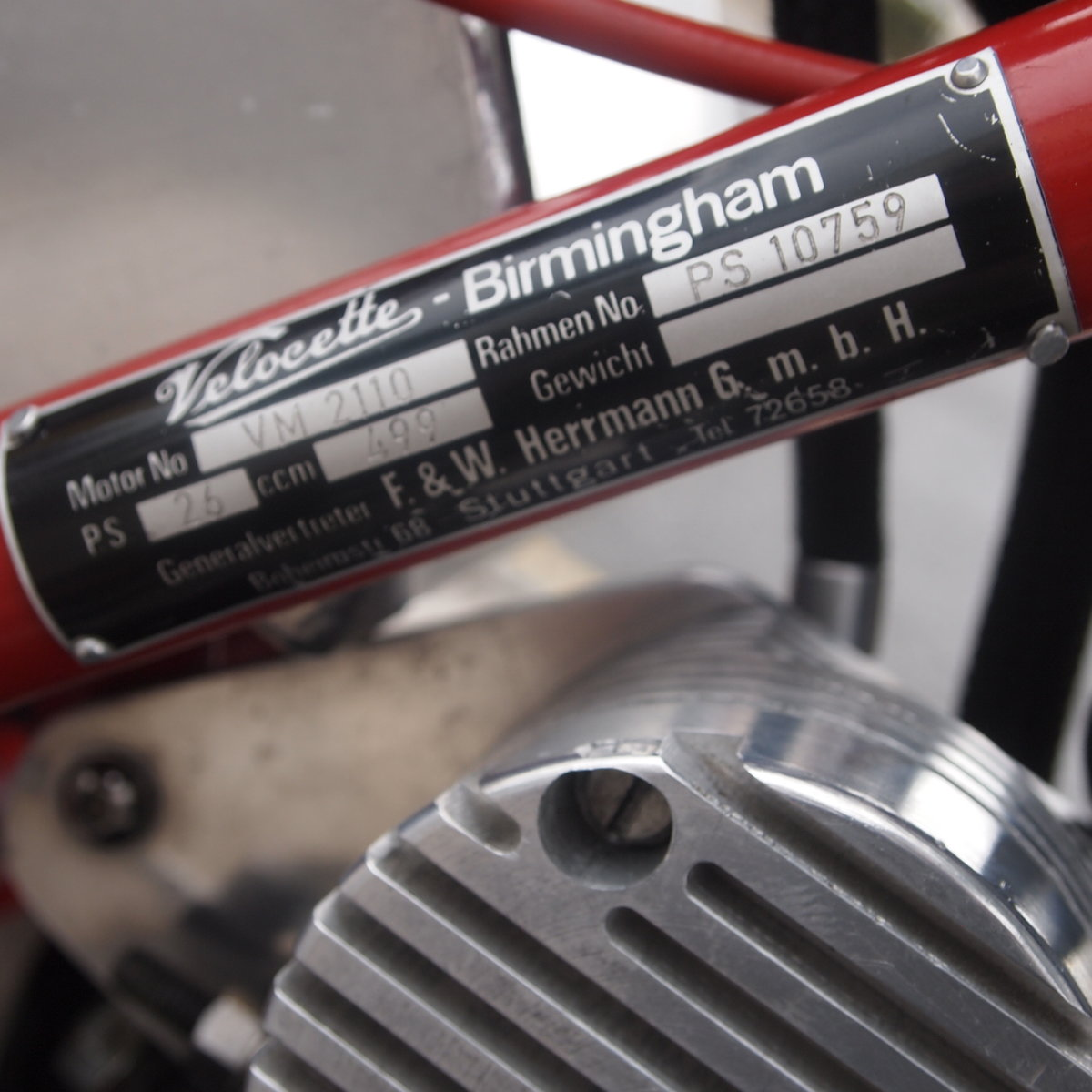 1958 Velo-Metisse 500 Rickman, Very Special, L@@K On EBay. For Sale (picture 3 of 6)