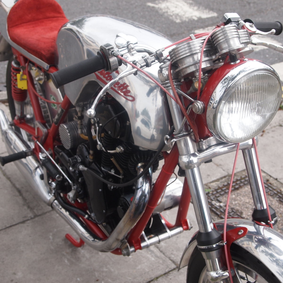 1958 Velo-Metisse 500 Rickman, Very Special, L@@K On EBay. For Sale (picture 4 of 6)