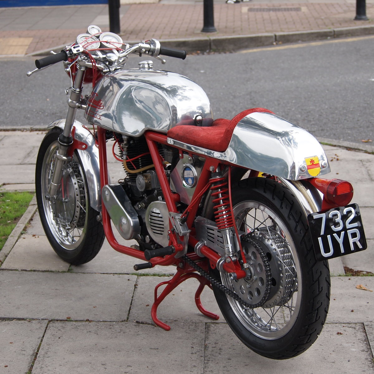 1958 Velo-Metisse 500 Rickman, Very Special, L@@K On EBay. For Sale (picture 5 of 6)