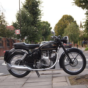 1954 Velocette MSS 500 Nice Clean Bike, Restored, Ride Away.