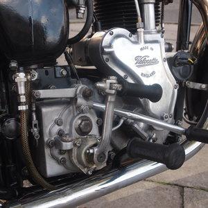 1954 Velocette MSS 500 With Early Model Long Stroke Engine.
