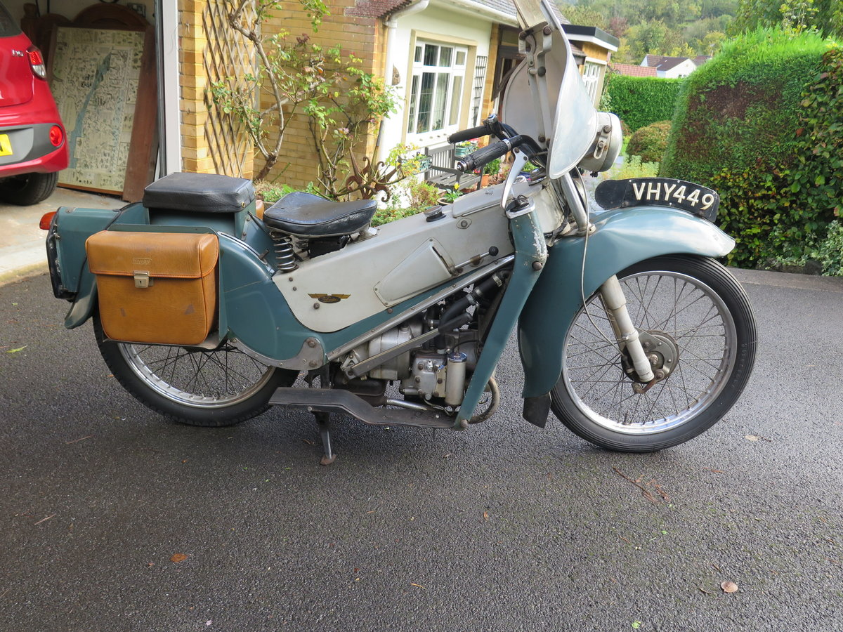 Lot 101 - A 1955 Velocette LE - 28/10/2020 SOLD by Auction (picture 1 of 6)
