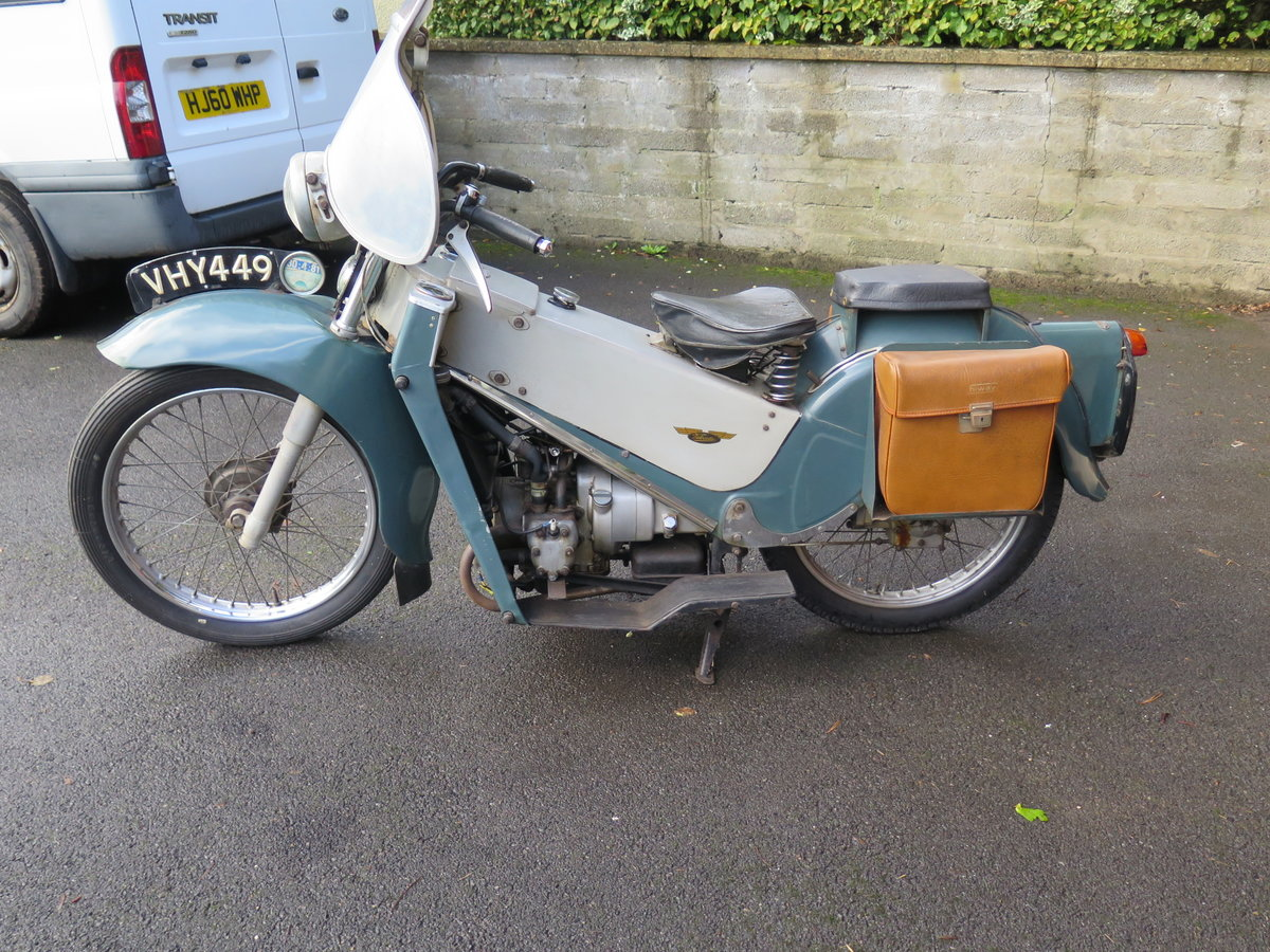 Lot 101 - A 1955 Velocette LE - 28/10/2020 SOLD by Auction (picture 2 of 6)