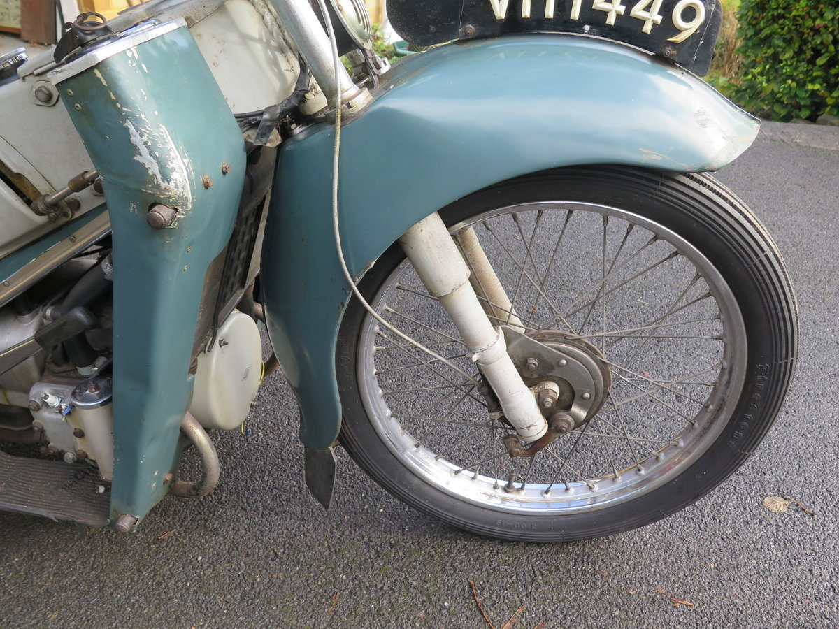 Lot 101 - A 1955 Velocette LE - 28/10/2020 SOLD by Auction (picture 5 of 6)