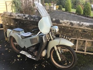 Velocette LE 1956 barn find .