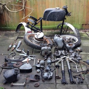 Picture of 1961 Velocette 499cc Venom Clubman Project For Sale by Auction