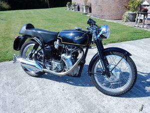 Velocette Thruxton 499cc 1966 Factory Frame & Engine Pairing