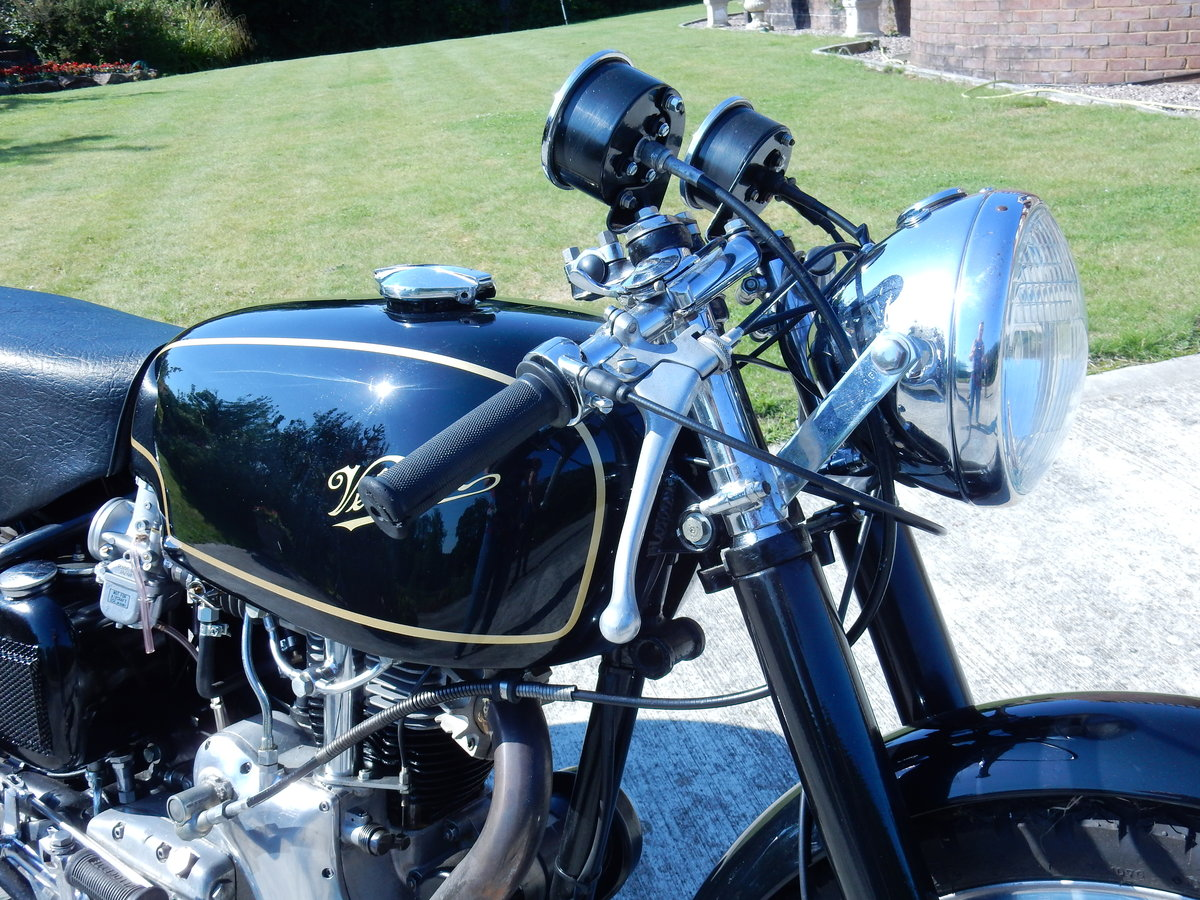 Velocette Thruxton 499cc 1966 Factory Frame & Engine Pairing For Sale (picture 5 of 12)