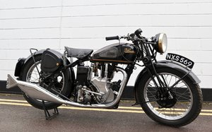 Picture of 1947 Velocette MSS 500cc - Very Original & In Great Conditio For Sale